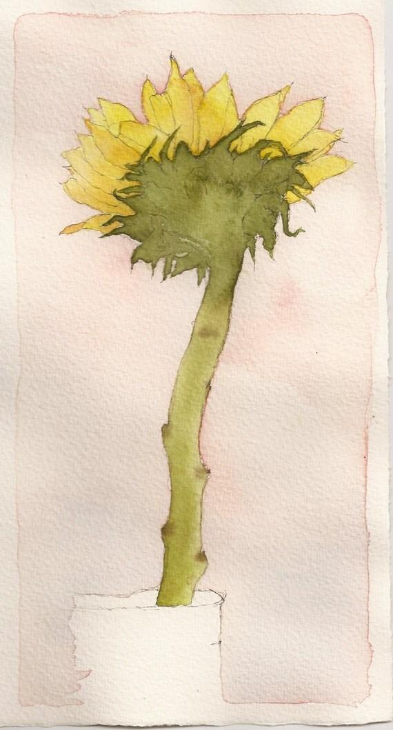 Sunflower-print