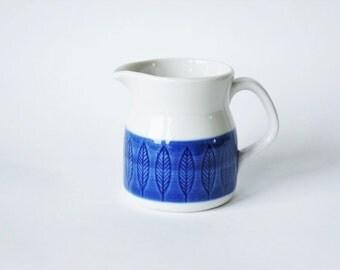 Vintage Rörstrand Koka Creamer / Milk Jug design by Hertha Bengtson