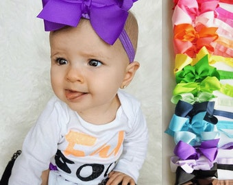 Baby headbands, 28 colors, girl headband, baby girl headband, girls headband, infant headband, baby bow lot, cheap bows, little girl headban