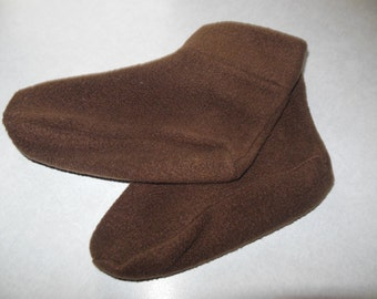 Fleece Slippers Child's Shoe Size 6-8