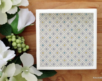 Ceramic Coasters - Ceramic Tile Coasters - Coaster Set - Table Coasters - Gray Coasters - Coaster - Tile Coaster - Coasters for Drinks