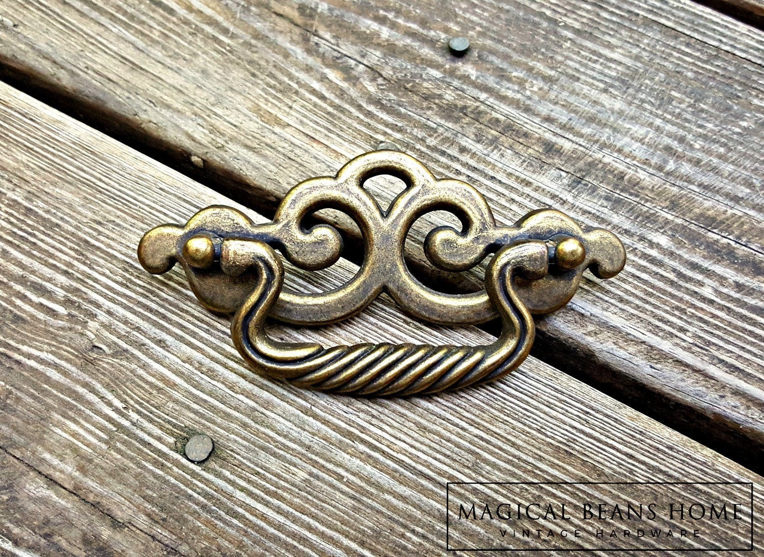 Chippendale Dresser Pulls French Twist Drawer Pull Handles
