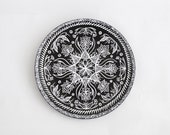 Decorative plate India - Christmas gifts ideas - Wall decorations - Hand painted plates - Wall hangings - Living room ideas - Floral decor