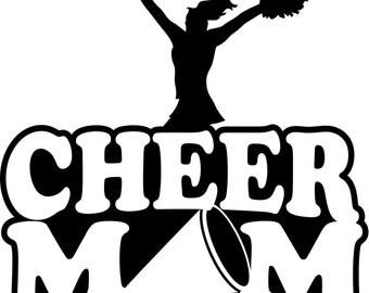 Cheer Mom Shirt/ Cheer Shirt/ Cheerleader Mom T Shirt/ Many Colors