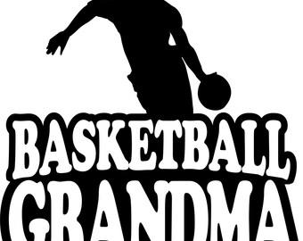 Basketball Grandma Hoodie/ Basketball Grandma Sweatshirt/ Basketball Grandma Gift/ Boy Player Basketball Grandma Hoodie Sweatshirt
