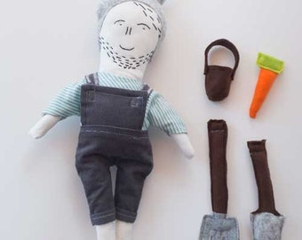 Rag doll - Clothes doll - Art dolls