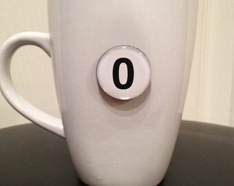 Quote | Mug | Magnet | Number '0' (zero)