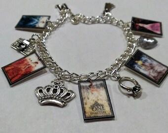 CLEARANCE YA Fan Charm Bracelet