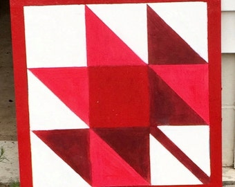 Red Maple Barn Quilt
