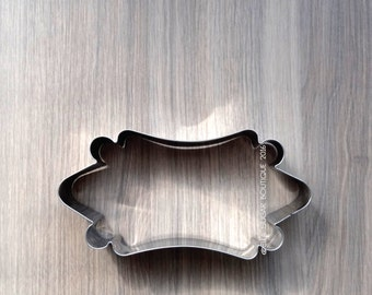 Cookie Cutter | Fondant Cutter | Plaque Cutter | NO RUST CUTTERS | Dishwasher safe | Long Circus Cookie Cutter -A18
