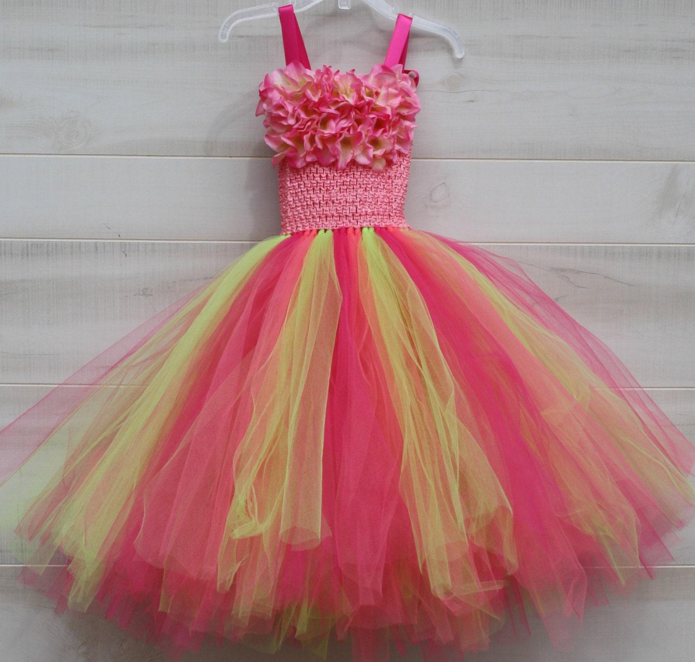 Flower girl dress tutu dress tulle dress Tutu Dress