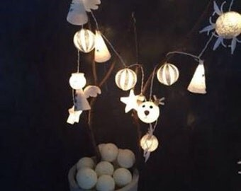 35 Xmas ( Christmas set ) string lights for partio, party, decorate