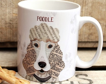 Ceramic Poodle Etsy
