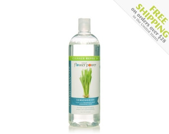 Natural Cleaner (Lemongrass) REFILL - Natural Cleaning Products - Natural Cleaning - Plant Based Cleaning - Essential Oils