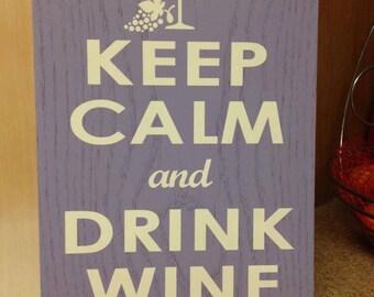 Keep calm sign, Keep calm custom sign, Keep calm decor, Home decor, Wood sign, Custom wood sign, Wooden sign, Keep calm decor, Keep calm and