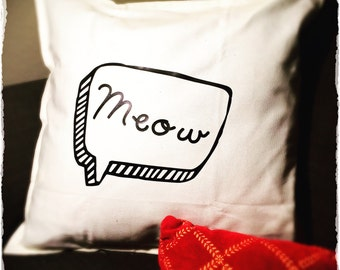 Cat Lover Decorative Pillow For the Home Gift for Cat Lover