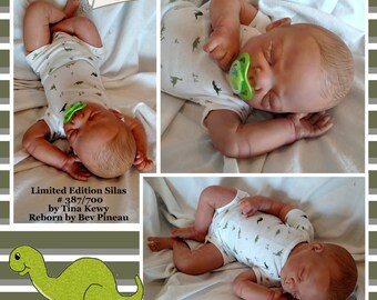 Amazingly Lifelike Baby Boy - Silas by Tina Kewy - Limited Edition #387/700