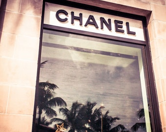 Chanel Photography, Print, Tropical Palm Beach, FineArt 11x17 16x24 florida colorful Worth Avenue Large Wall Art Canvas 20x30