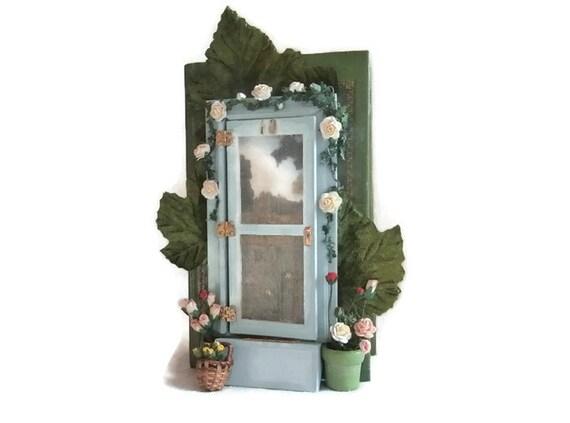 Fairy door princess bride book fairy fairy house for Princess fairy door