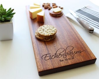 Cheese Board, Personalized Cutting Board, Custom Name, Bridal Shower Gift, Wedding, Anniversary, Personalized Mens, Gift For Her, Husband