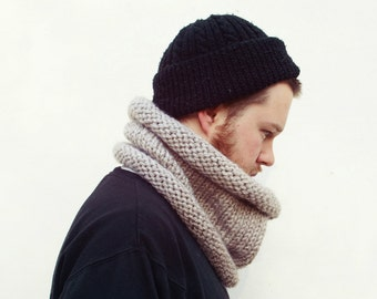 The Birch Knitted Tube Scarf