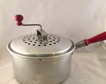 Vintage West Bend Popcorn Popper, Stove Top