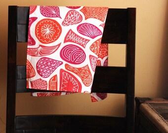 Linen Kitchen Tea Towel Citrus