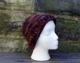 Winter Hat - Crochet Autumn Colors