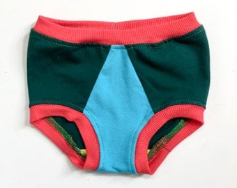 toddler underwear | forest colorblock