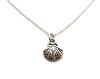 Seashell Necklace Sea Shell Necklace Tiny Shell Necklace Nautical Necklace Beach Necklace Sea Shell Jewelry Seashell Jewelry