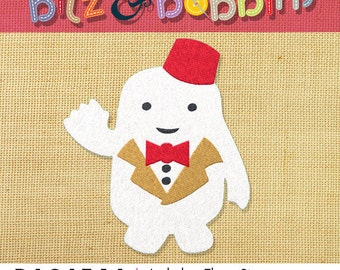 Doctor Who 11th Doctor, Adipose - Machine Embroidery Design