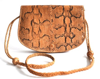 Vintage Genuine Snakeskin Bag