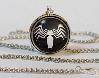 Handmade Venom Spiderman Pendant Necklace