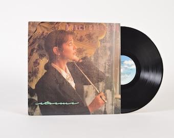 "NANCI GRIFFITH - ""Storms"" vinyl record"