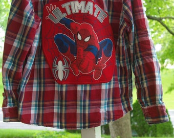 HALF PRICE Upcycled Ultimate Spiderman, Boys Sonoma size 5 / 6