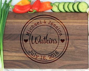 Personalized Cutting Board, Custom Cutting Board, Personalized Cutting Board, Wedding Gift, Christmas Gift, Kitchen Decor