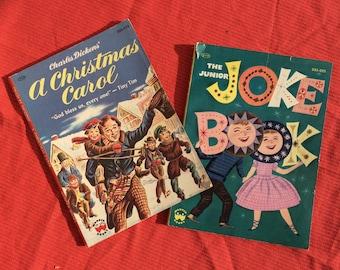 A Christmas Carol and Junior Joke Book by Wonder Books