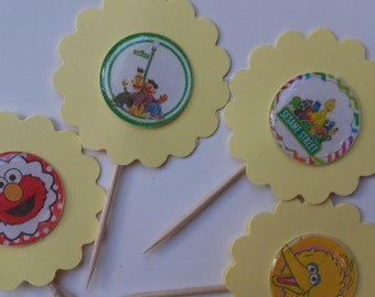 Cupcake Toppers, Party Favors, Cake Toppers, Theme Cake Toppers, Party Theme Decorations, Theme Cupcake Toppers, Cupcake, Theme Party Favors