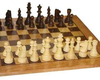 Amish Handcrafted Chess Board Game
