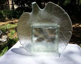 """Rare Arcoroc Aspen Large 15 1/8"""" Centerpiece"""