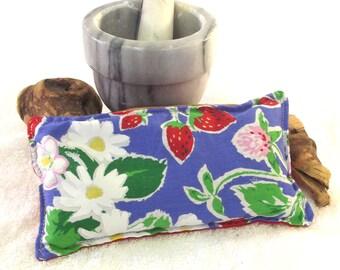 Headache Hot Cold Pack - Microwave Heating Wrap - Headache Heat Pack - Herbal Flax Seed Pad