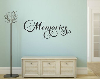 Memories Wall Decal Family Wall Decal Picture Wall Decal Memories Decal Family Vinyl Decal Family Wall Decor Family Decal Home Wall Decal