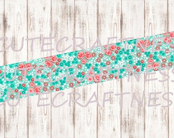 Thick washi sample floral