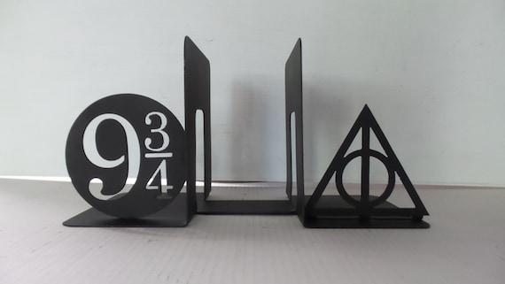 Harry Potter Bookends : Harry potter inspired platform deathly hallows always