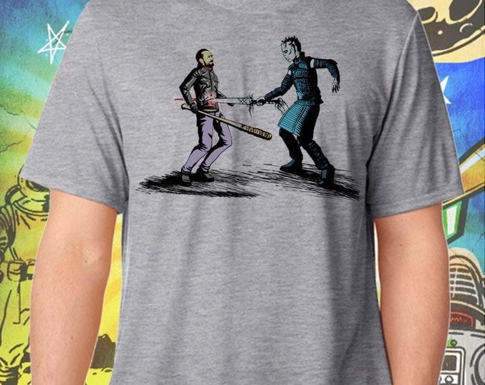 The Nights King Picks Walking Dead's Negan Gray Men's T-Shirt