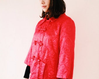 Vest jacket quilted vintage inspired from China from the 60s