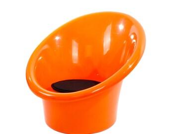 Plastic chair etsy - Ikea fauteuil plastique ...
