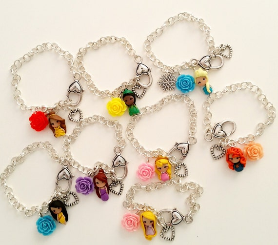 princess disney inspired bracelet with by candydesigncrea