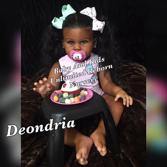 Aa Reborn Toddler Baby Biracial Custom Made To Order Aa
