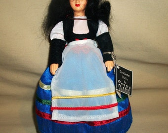 Stunning 1970's Vintage PEGGY NISBET Made In England N/104 ITALY Original Box And Tags Costume And Portrait Doll